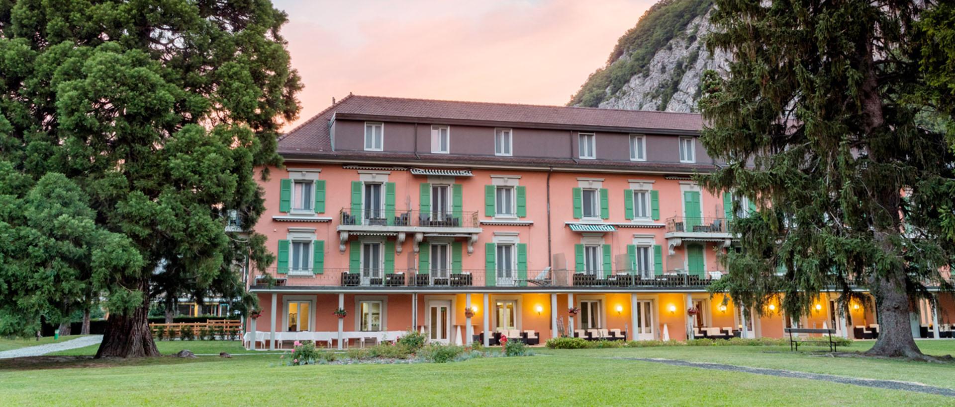 Grand Hôtel des Bains - Lavey-les-Bains - HHC Formations - Human & Health Center