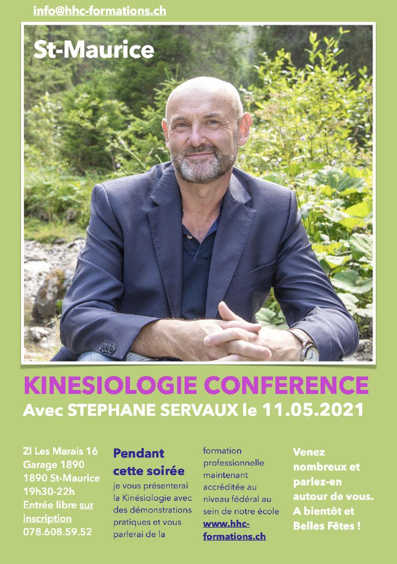 KINESIOLOGIE, Conférence du 11 mai 2021 à St-Maurice