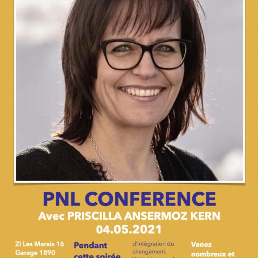 PNL, Conférence du 04 mai 2021 à St-Maurice